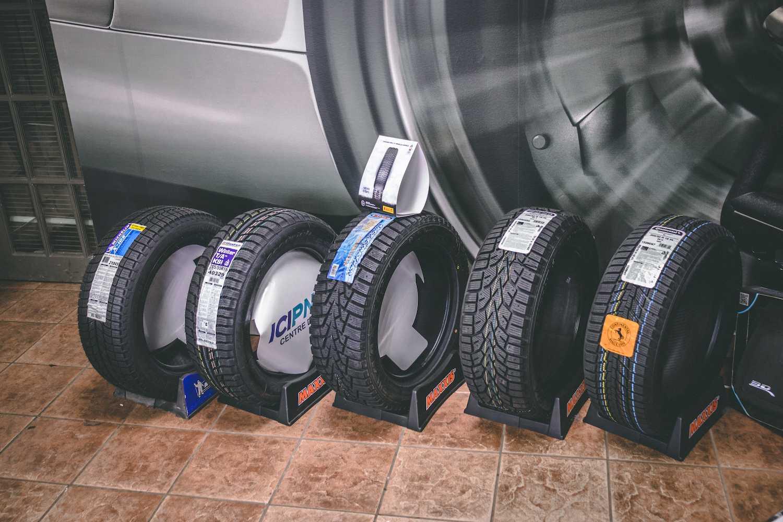 Changement de pneus Saint-Jérôme